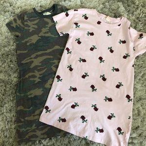Girls Forever 21 T-shirt Dress Bundle